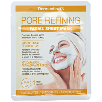 Dermactin - Ts Dermatin-TS Pore Refining Charcoal Sheet Mask