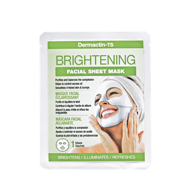 Dermactin - Ts Dermactin-TS Facial Sheet Mask Brightening