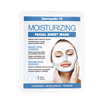 Dermactin - Ts Dermactin-TS Facial Sheet Mask Moisturizing