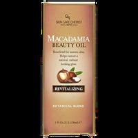 Skin Care Chemist Revitalizing Macadamia Beauty Oil