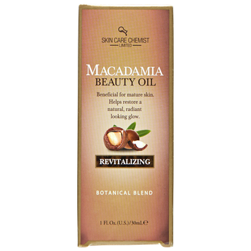 Skin Care Chemist Revitalizing Macadamia Beauty Oil