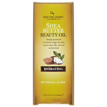 Skin Care Chemist Hydrating Shea Butter Beauty Oil