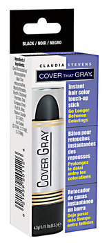 Claudia Stevens Cover That Gray Touch-Up Color Stick Black