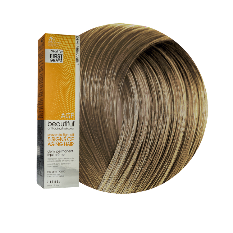 Zotos Agebeautiful Anti Aging Demi Permanent Liqui Creme Haircolor