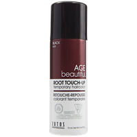 AGEbeautiful Root Touch-Up Sprays Temporary Haircolor Black