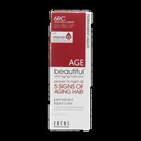 AGEbeautiful Anti-Aging Permanent Liquid Haircolor with Vitamin E 6RC Dark Red Copper