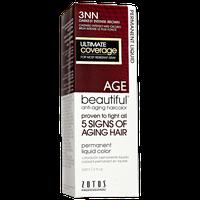 AGEbeautiful Anti-Aging Permanent Liquid Haircolor with Vitamin E 3NN Darkest Intense Brown