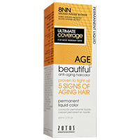 AGEbeautiful Anti-Aging Permanent Liquid Haircolor with Vitamin E 8NN Medium Intense Blonde
