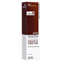 Zotos AGEbeautiful Anti-aging Permanent Liqui-creme Haircolor 4G Dark Golden Brown
