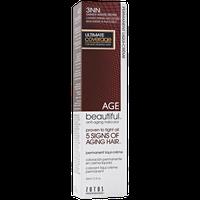 AGEbeautiful Anti-Aging Permanent Liqui-creme Haircolor with Vitamin E 3NN Darkest Intense Brown