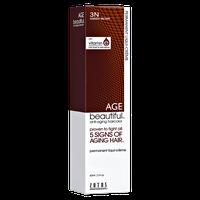 Zotos AGEbeautiful Anti-aging Permanent Liqui-creme Haircolor Darkest Brown