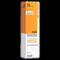 Zotos AGEbeautiful Anti-aging Permanent Liqui-creme Haircolor 8G Medium Golden Blonde