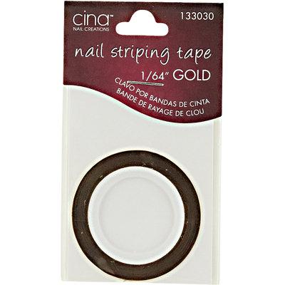 Cina Gold Nail Striping Masking Tape