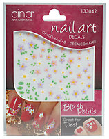 Cina Nail Art 3-D Decals Blush Petals