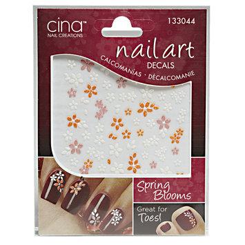 Cina Nail Art 3-D Nail Decals Spring Blooms
