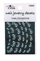 Cina Precious Petals Rhinestone Nail Art Decals