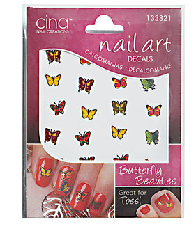 Cina Exotica Nail Art Decals Butterfly Beauties