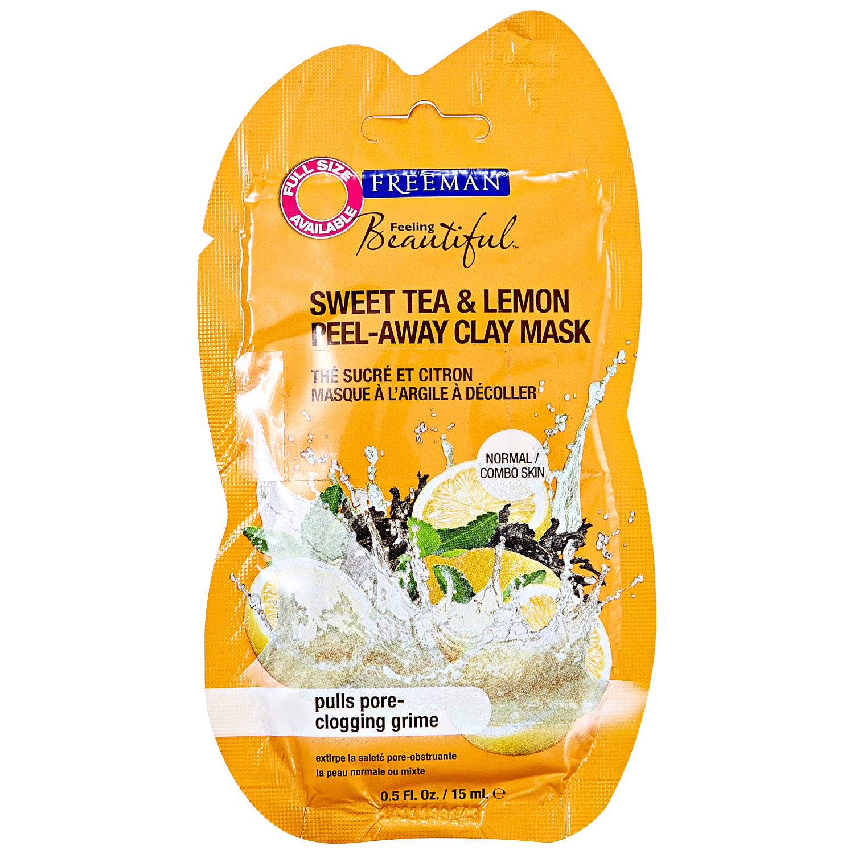 Freeman Sweet Tea and Lemon Peel-Away Clay Mask