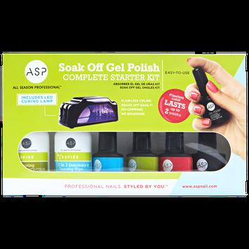 ASP Soak Off Gel Polish Complete Starter Kit