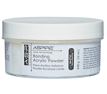 ASP Bonding Acrylic Powder White 16 oz.