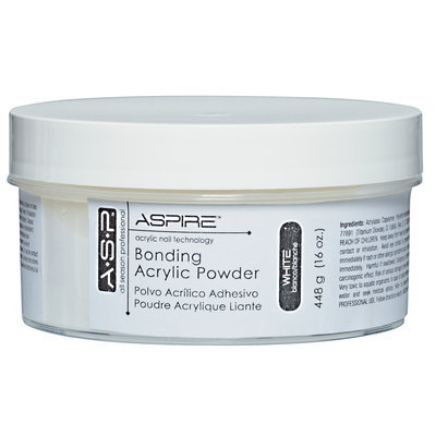 ASP Bonding Acrylic Powder White 16 oz.