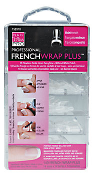 Nail Bliss French Wrap Plus - Thin French Style 140ct