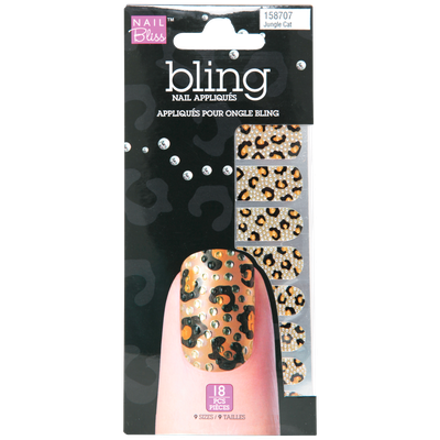 Nail Bliss Bling Jungle Cat