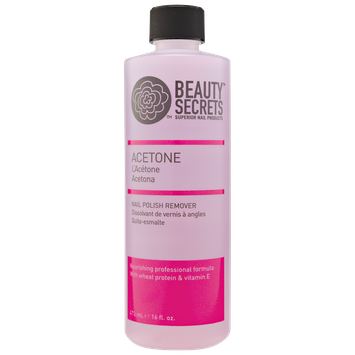 Beauty Secrets Nourishing Acetone Nail Polish Remover 16 oz.