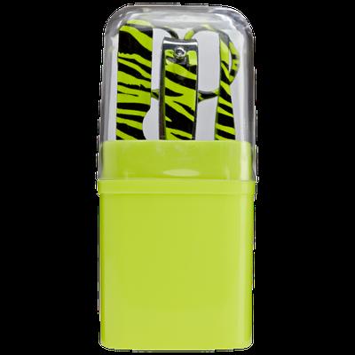 Beauty Secrets Mini Mani Kits Yellow Zebra