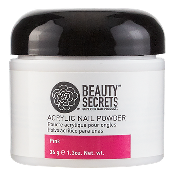 Beauty Secrets Pink Acrylic Nail Powder