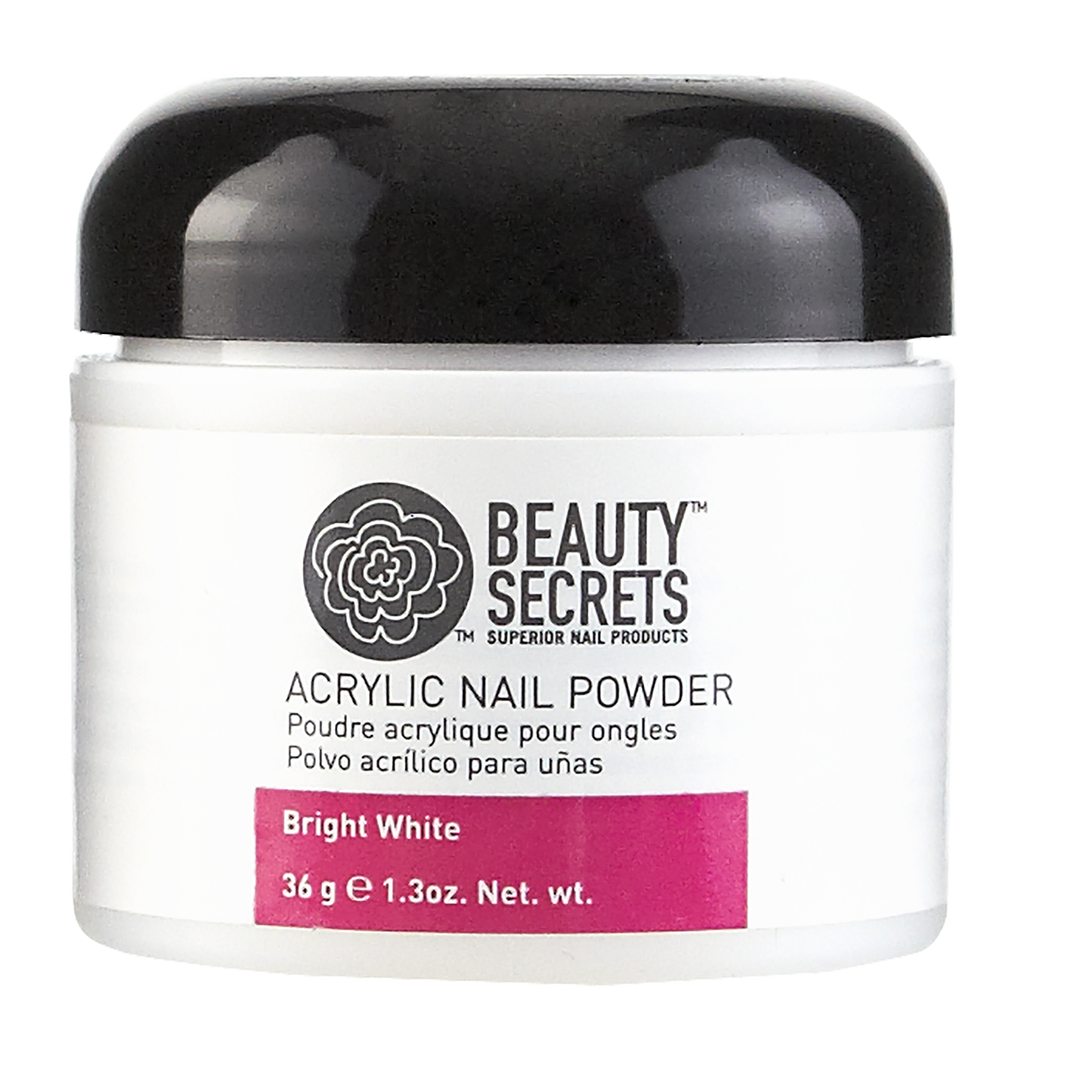 Beauty Secrets Acrylic Powder Bright White Cali Compliant