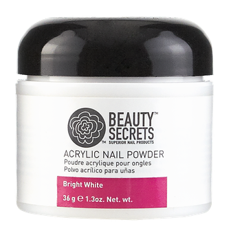 Beauty Secrets Acrylic Powder Bright White Cali Compliant