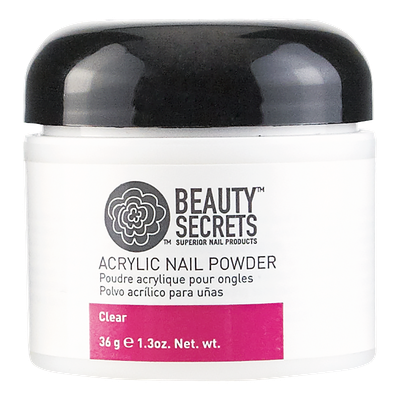 Beauty Secrets Clear Acrylic Nail Powder