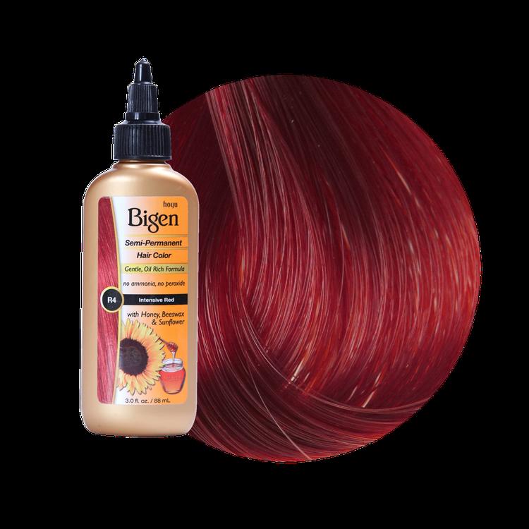Bigen Semi Permanent Hair Color Intensive Red Reviews