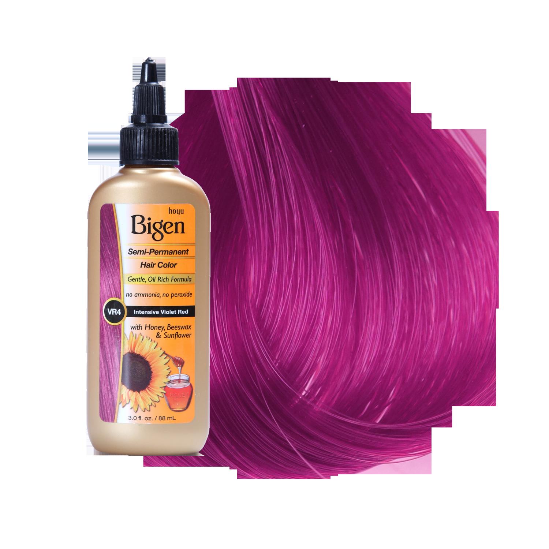 Bigen Semi Permanent Hair Color Intensive Violet Red