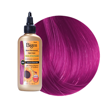 Bigen Semi Permanent Hair Color Intensive Violet Red