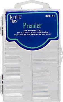 Terrific Tips Premier Clear Nail Tips