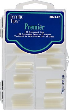 Terrific Tips Premier Natural Nail Tips