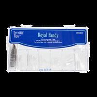 Terrific Tips Royal Fancy Clear Nail Tips