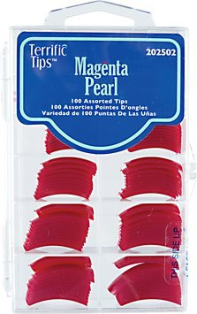 Terrific Tips Color Tips Magenta Pearl