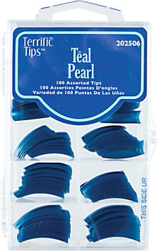 Terrific Tips Color Tips Teal Pearl