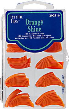 Terrific Tips Color Tips Orange Shine