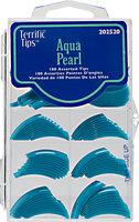 Terrific Tips Color Tips Aqua Pearl