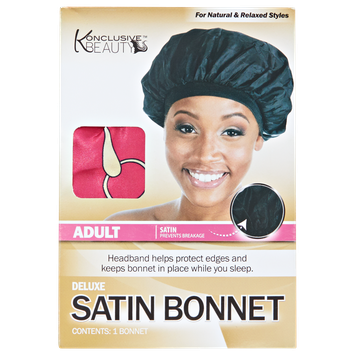 Konclusive Beauty Deluxe Satin Bonnet