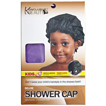 Konclusive Beauty Deluxe Kids Shower Cap