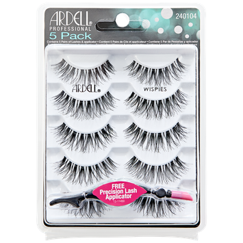 Ardell 5 Pack Lashes Wispies Black