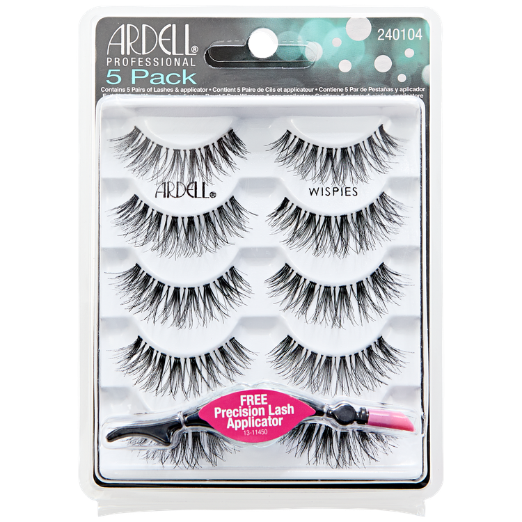 9d30bef05e6 Ardell 5 Pack Lashes Wispies Black Reviews 2019