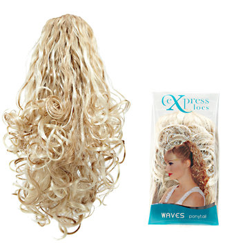 ExpressLocs Ponytail Clip-in Waves Hairpiece Dark Blonde