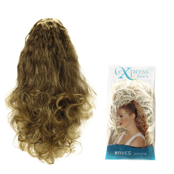 Design Lengths ExpressLocs Ponytail Clip-in Waves Hairpiece Frosted