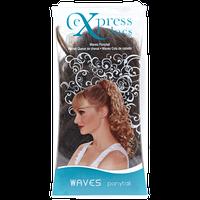 ExpressLocs Ponytail Clip-in Waves Hairpiece Medium Brown